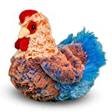 Douglas Henrietta Blue Lace Hen Plush Stuffed Animal