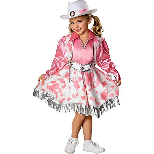 Kids Western Cowgirl Diva Costume