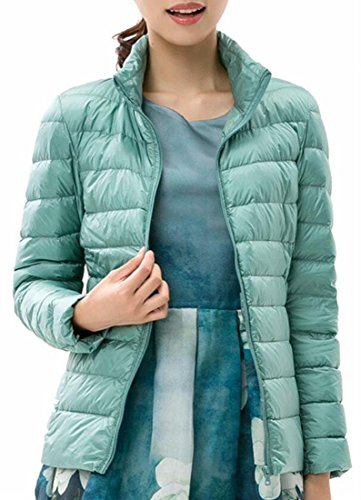 Coat Fly Jacket Puffer Zip Quilted Outdoor uk Year Stand Women Up Down 3 Collar qFrv7q