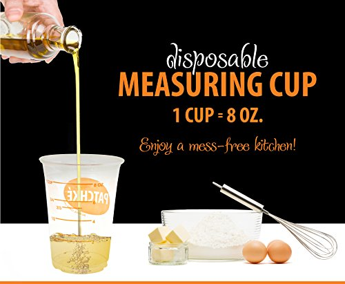 disposable measuring cups - 1