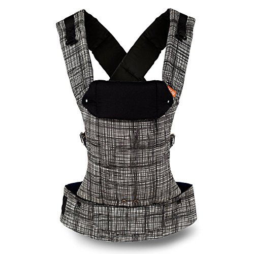 Gemini Performance Baby Carrier By Beco - Multi-Position Soft Structured Sling w/ Adjustable Straps & Comfort Padding for Infant/Toddler Hip Support - Scribble Too