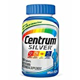 Centrum Silver Men (200 Count) Multivitamin/Multimineral Supplement Tablet, Vitamin D3, Age 50+