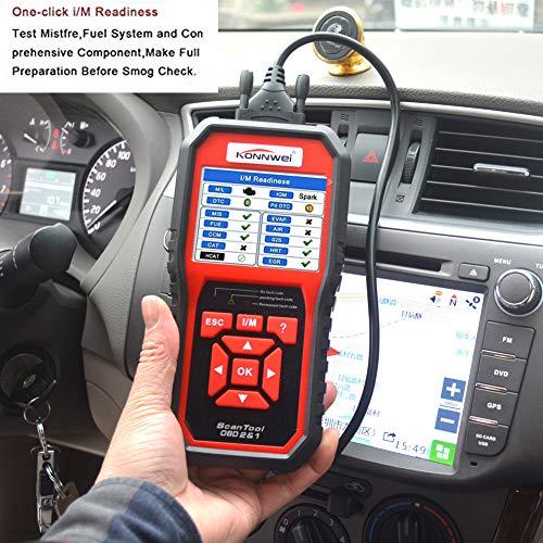 KONNWEI OBD2 Scanner Code Reader Professional OBD II Code Scanner Auto Diagnostic Check Engine Light Scan Tool for All OBD II Car After 1996 (Enhanced Version) by KONNWEI (Image #8)