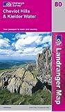 Cheviot Hills and Kielder Water (Landranger Maps)