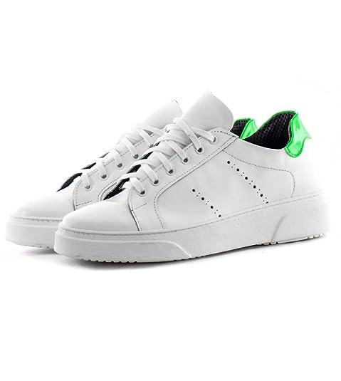Shoes Sneakers CasualAmazon Bianche Scarpe Lacci Uomo Con Giosal TJlK31cF