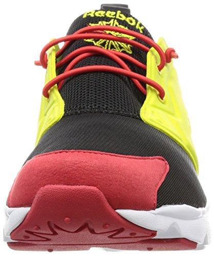 Reebok Furylite Herren Sneakers schwarz/gruen/rot