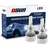 Kit Focos Led Osun C6 50 watts Tipo Xenon Faros Auto (H7)