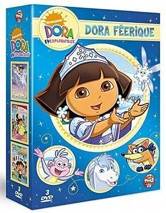 Dora féérique : dora sauve la princesse des neiges ; dora au pays ...