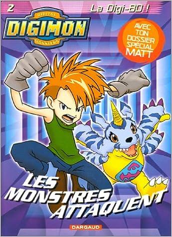 Lire Digimon, tome 2 : Les monstres attaquent pdf