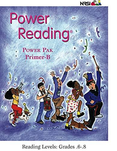 (Power Reading Power Pak Primer B - Reading Level: .6 - .8)