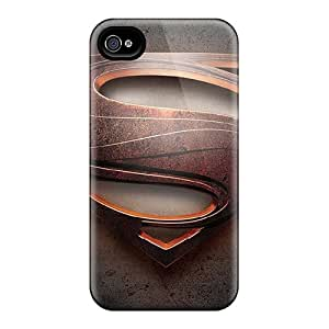 Iphone 6plus AuY1044Zpmp Provide Private Custom Vivid Man Of Steel Superman Skin Shock-Absorbing Cell-phone Hard Cover -CharlesPoirier
