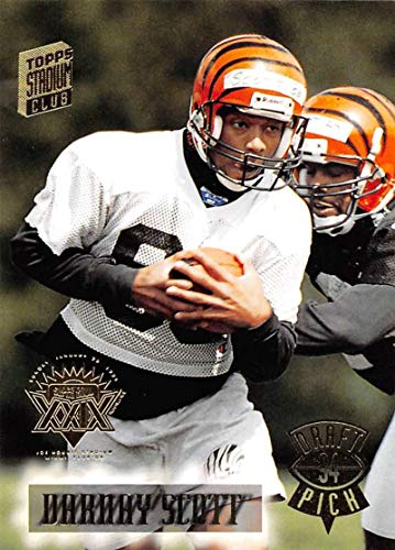 1994 Stadium Club Super Teams Super Bowl Football #501 Darnay Scott Cincinnati Bengals Official NFL Trading Card From Topps -