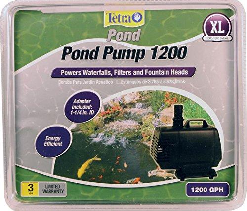 TetraPond 14937 Water Garden Pond 1200 GPH Pump