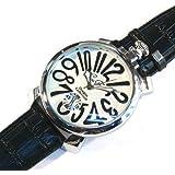 トップリューズ式ビッグフェイス腕時計 マットタイプ47mm GaGa MILANO ガガミラノ好きに(全8色)