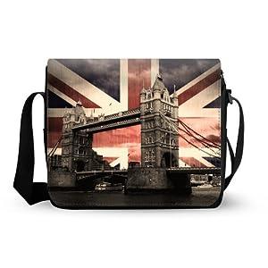 London Bridge Oxford Fabric Messenger Bag