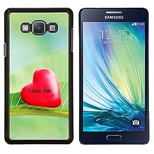 TECHCASE---Cubierta de la caja de protección para la piel dura ** Samsung Galaxy A7 ( A7000 ) ** --Amor Te Amo