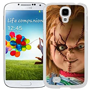 Durable Galaxy S4 Case Design with Chucky White Phone Case for Samsung Galaxy S4 SIV S IV I9500 I9505