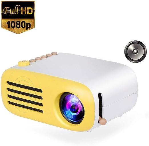 Mini Bolsillo del LED, 1080P para el proyector casero de los niños ...