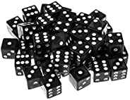 Handy Basics 100 Pack Standard Game Dice 16mm