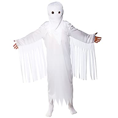 s boys ghastly ghost halloween costume for fancy dress childrens kids childs small age