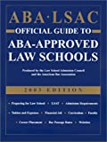 img - for ABA LSAC Official Guide to ABA-Approved Law Schools, 2003 book / textbook / text book