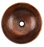 16'' Dia Renovations Above Counter Bathroom Sink-Black Copper by Thompson Traders