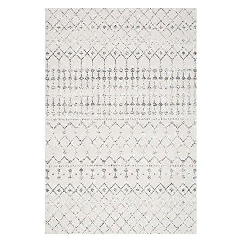 Transitional-Vintage-Moroccan-Trellis-Grey-Area-Rugs