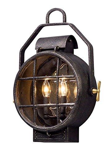 Troy Lighting B5032: Two Light Wall Lantern, 19.25