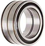 SKF NNF 5020 ADA-2LSV Cylindrical Roller Bearing, Double Row, Straight Bore, RBEC 1 Precision, Lube and Groove Holes, Normal Clearance, Metric, 100mm Bore, 150mm OD, 67 mm Width