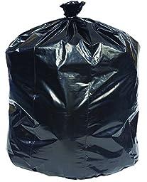 Brighton Professional Linear Low Density Flat Pack Trash Bags, 12-16 Gallon, 1,000 Bags/Box