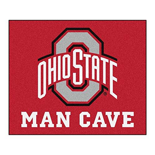 - FANMATS 14586 Ohio State University Nylon Universal Man Cave Tailgater Rug