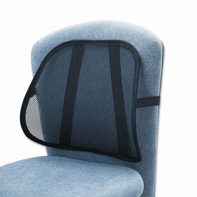 Safco 7153BL Mesh Backrest, 17-1/2w x 3-1/8d x 15h, Black by (Safco Mesh Backrest)