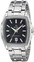 Bulova Men's 96B144 Precisionist Multi-Level Tonneau Case Watch