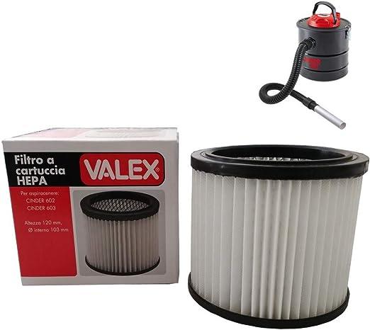 Parpyon Valex Filtro de repuesto para aspirador de cenizas Cinder ...