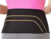 Total Copper Infused Embedded Lumbar Support, Black, 10 Count