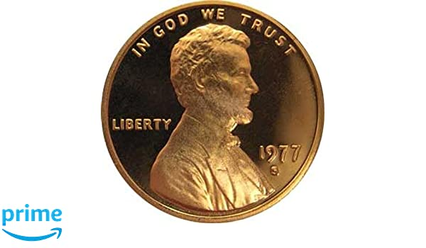 Mint Issued U.S 1977-S Lincoln Cent Proof