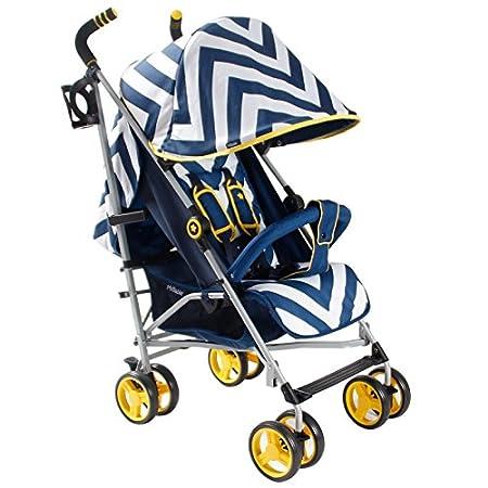 My Babiie MB02 Blue Chevron Stroller My Companiie Ltd