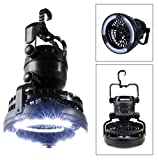 (US) iMBAPrice® Deluxe Outdoor Camping 2-In-1 Combo 18 Super Bright LED Lantern and Fan (CFAN-LED)