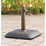 Mainstays Lawson Ridge Umbrella Base with Powder-coated, Steel Frame