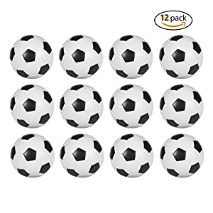 Stardard black and white soccer ball