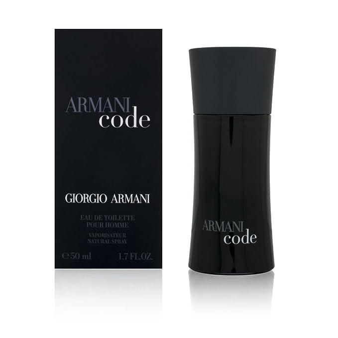 Amazoncom Armani Code By Giorgio Armani For Men Eau De Toilette