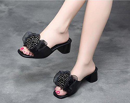 fraîches Mode Sandales Sandales nbsp; Sandales Sandales 38 Confort A d'arc B FAFZ Taille de Couleur Sandales Plates Sandales Pantoufles Chaussons AwI4gq