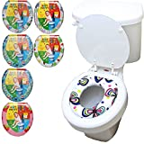 cushioned toilet seat uk KID TODDLER CHILD GIRL BOY SOFT PADDED TOILET TRAINING TRAINER SEAT ASSORTED