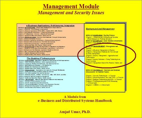 e-Business and Distributed Systems Handbook: Management (Distributed Management Module)