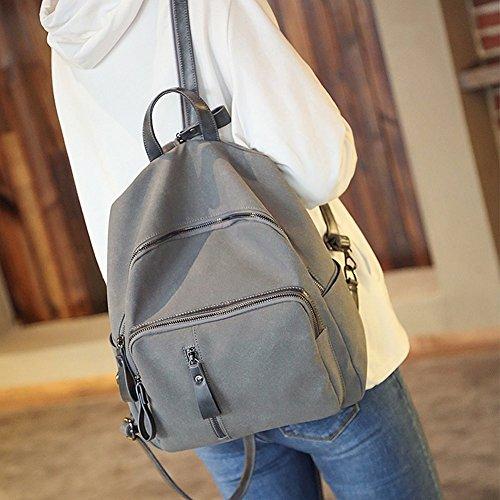Remeehi - Bolso mochila  para mujer, gris (gris) - JXQ01936-1 gris