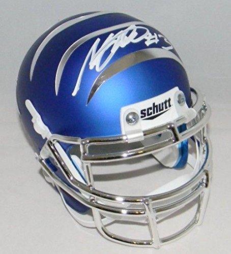 Anthony Miller Autographed Mini Helmet - Memphis Tigers Blue