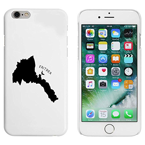 Weiß 'Eritrea' Hülle für iPhone 6 u. 6s (MC00051498)