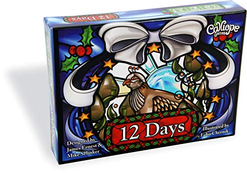 12 Days -  Holiday Themed Family Card Game