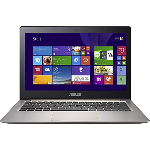 (ASUS Zenbook UX303UA-DH51T Ultrabook Intel Core i5 6200U (2.30 GHz) 8 GB Memory 256 GB SSD Intel HD Graphics 520 13.3'' IPS Full HD 1920 x 1080 Touchscreen 1.2 MP)