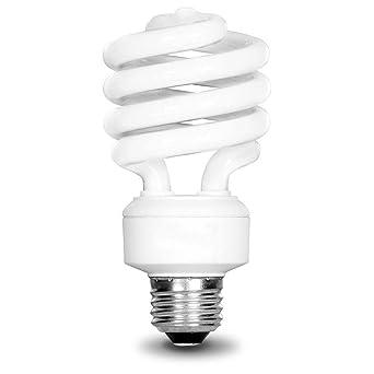 EcoSmart 100W Equivalent Daylight (5000K) Spiral CFL Light Bulb (4 Pack)      Amazon.com